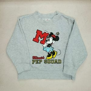 Vintage Late 90's/Y2K Kids Minnie Gray Pullover